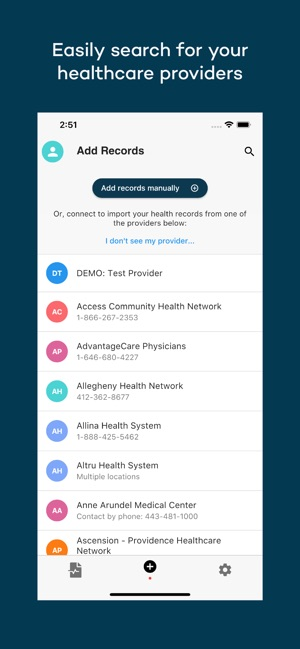 Coral Health Records on the App Store