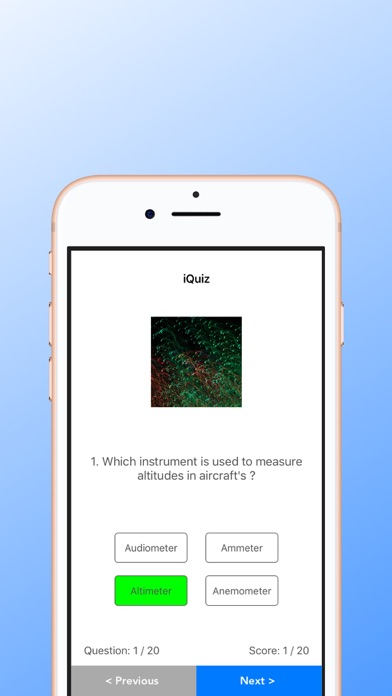 iQuizApp Screenshot