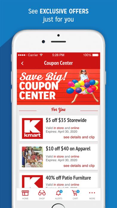 Kmart screenshot