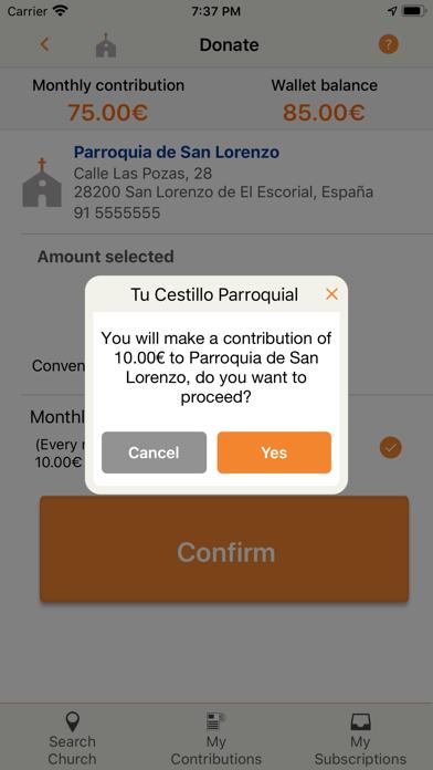 Tu Cestillo Parroquial screenshot 5