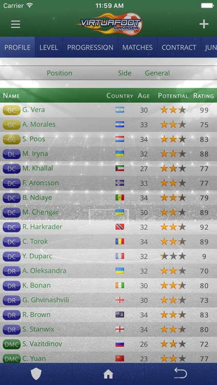 Virtuafoot Football Manager screenshot-3