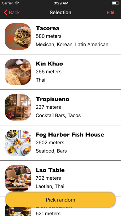 Where To Eat App app image