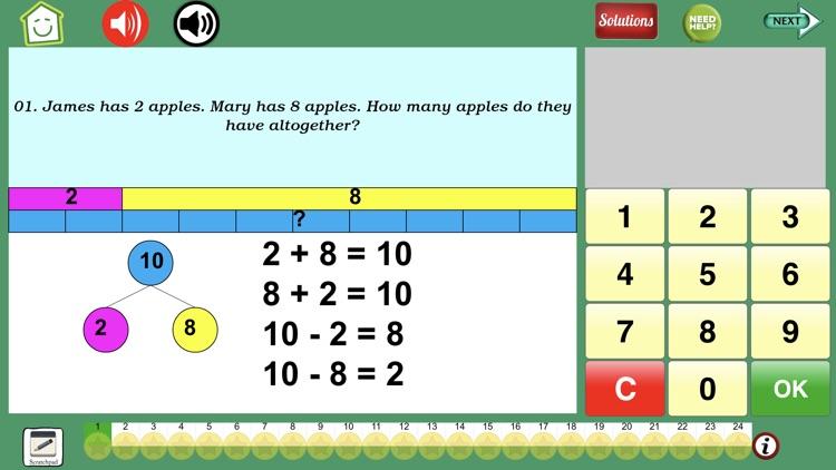 Math Word Problem Grades 2-3 screenshot-5