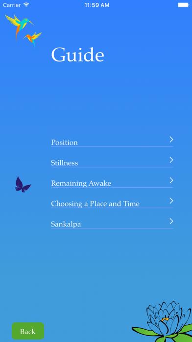 Yoga Nidra - Relaxation Lite screenshot three