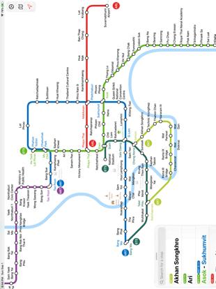 Screenshot #4 pour Bangkok Metro Transit Map