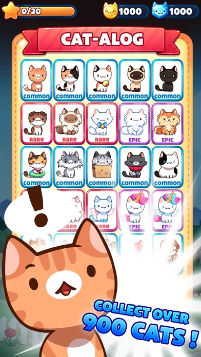 Cat Game - The Cats Collector! screenshot 3