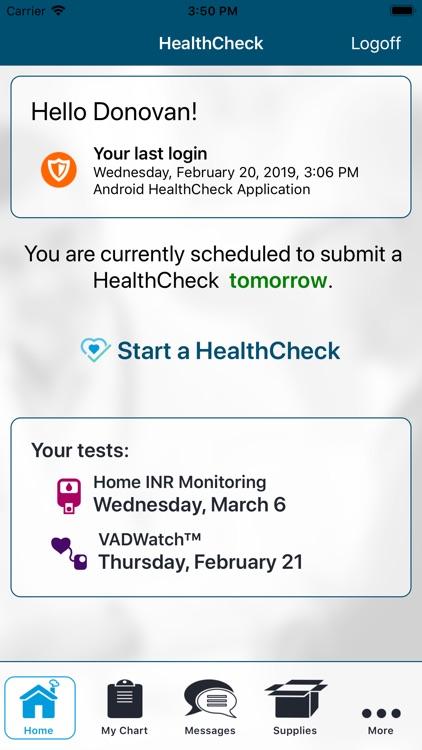 ACH HealthCheck