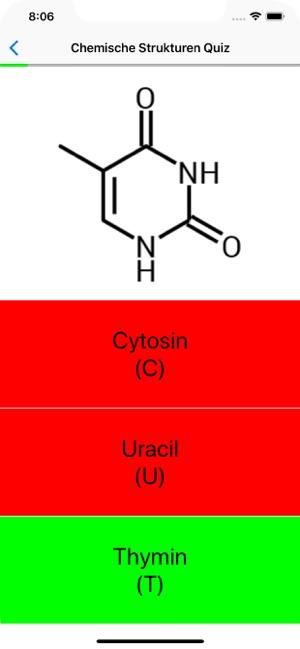 Chemische Strukturen Quiz