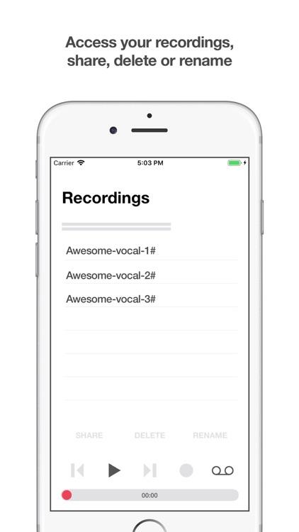 Vocal Track