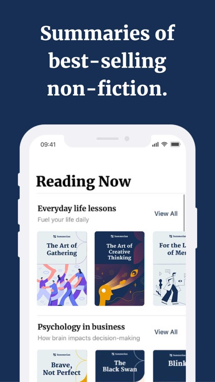 Summerian: Read Book Summaries