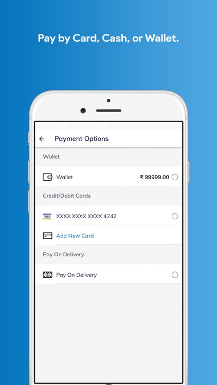 iDeliver - On-demand delivery screenshot-4