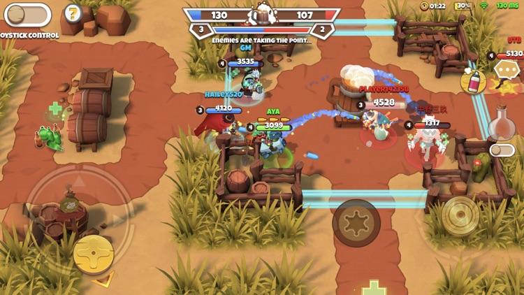 West Legends: 3v3 Team Battle screenshot-4