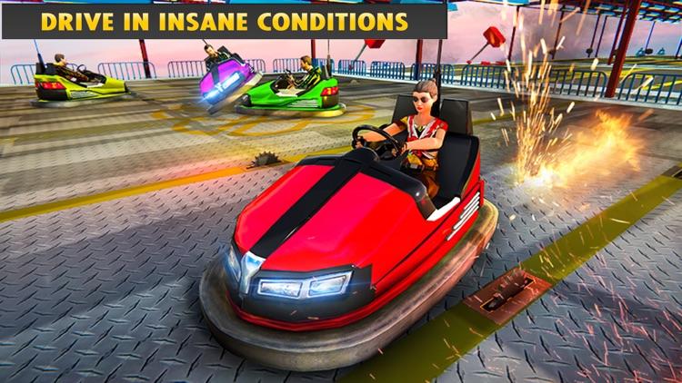 Crazy Bumper Cars Mania 3D screenshot-3