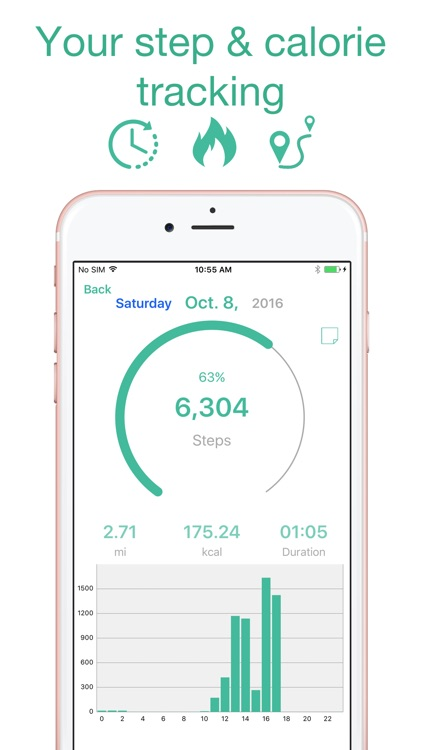 Step Counter - Pedometer App