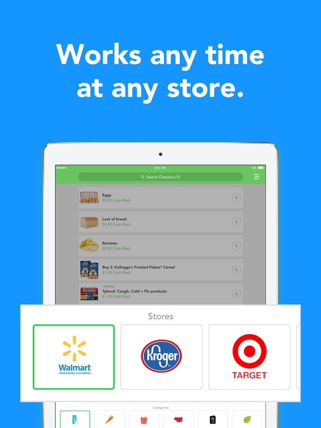 Checkout 51 Cash Back Savings On The App Store