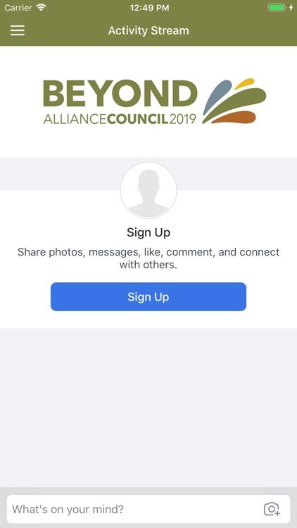 Alliance Council 2019