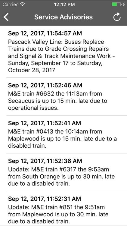 onTime : NJT, Light Rail, Bus screenshot-4