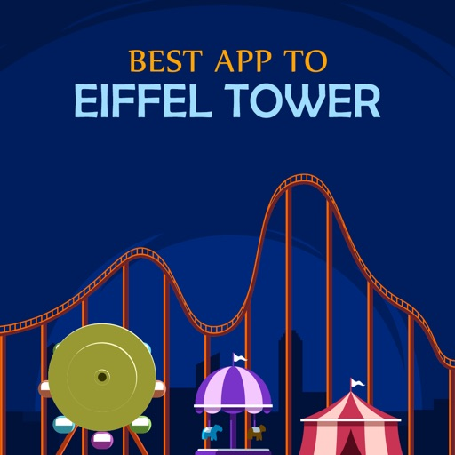 Best App to Eiffel Tower app logo