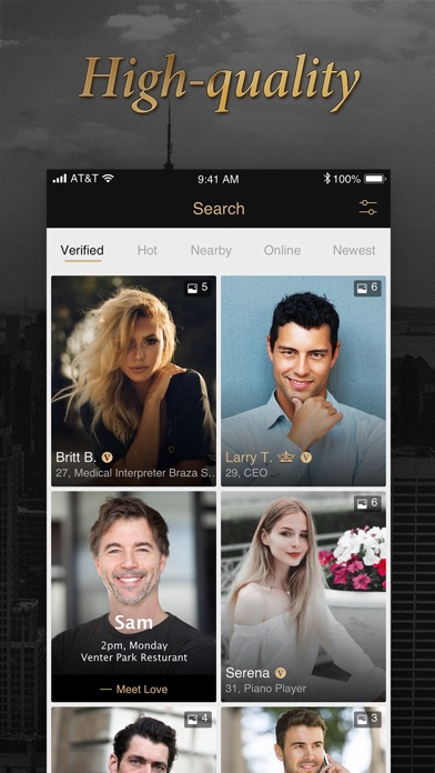 Screenshot #1 pour Luxy Pro - Selective Dating