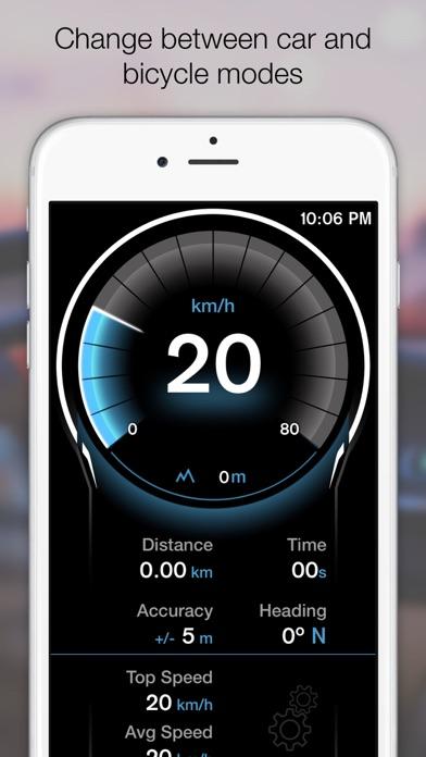 Screenshot for GPS Digital Speed Tracker Pro in France App Store