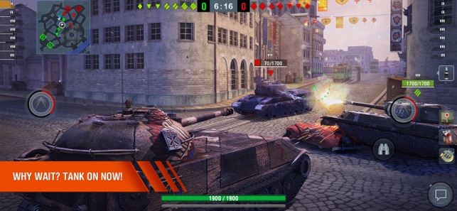 ‎World of Tanks Blitz 3D MMO Screenshot