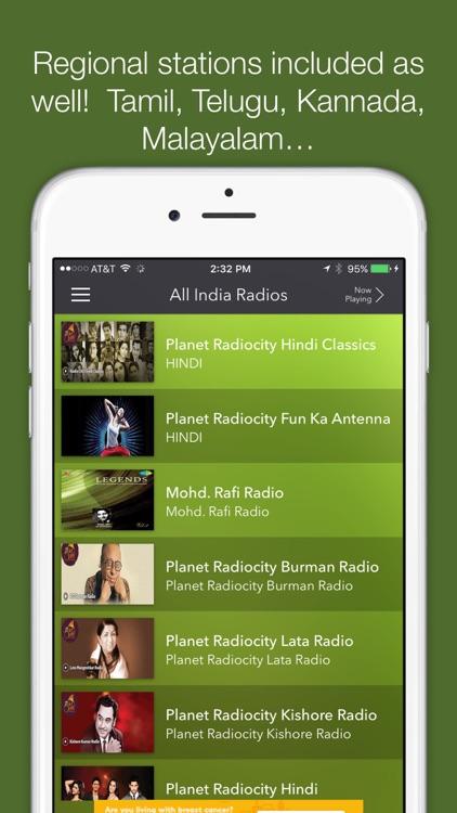 All India Radios-AIR Stations