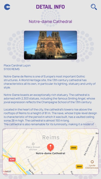 Reims Tourist Guide screenshot 4