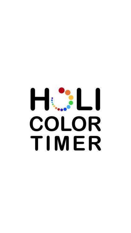 Holi Color Timer
