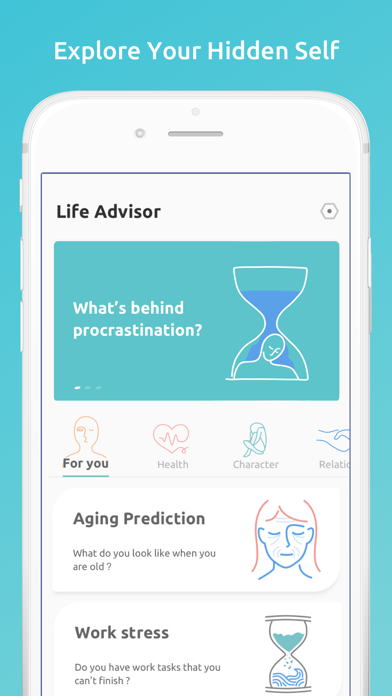 Life Advisor: Personal Test Screenshot