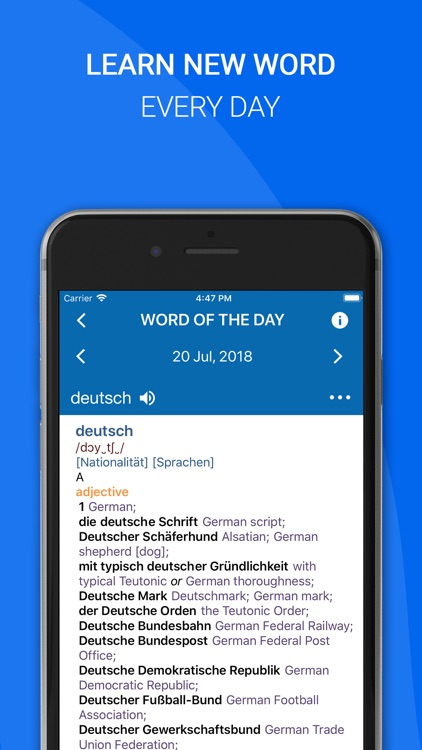 Oxford German Dictionary screenshot-4