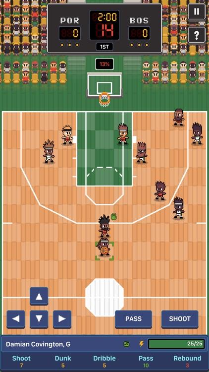 Hoop League Tactics screenshot-3