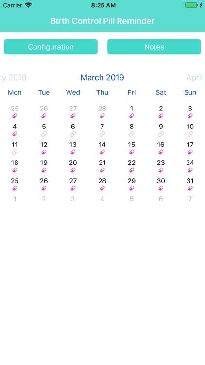 Birth Control Pill Reminder + screenshot-4