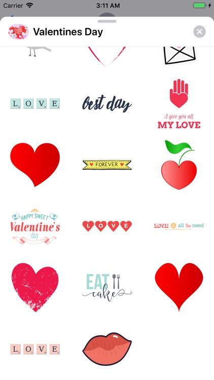 Happy Valentines Day! Stickers screenshot-3