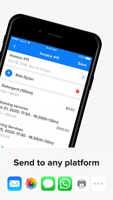 Invoice Maker: Swift Invoices Screenshot