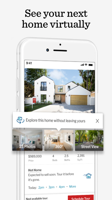 Screenshot #1 pour Redfin Buy & Sell Real Estate