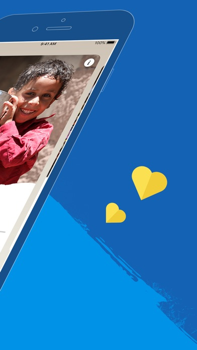 Screenshot for ShareTheMeal in Lebanon App Store