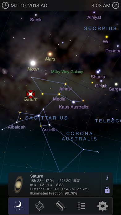 Screenshot #6 for StarMap 3D