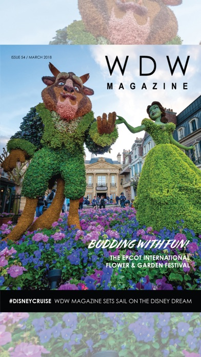Screenshot for WDW Magazine in United States App Store