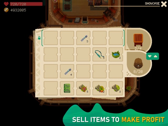 Ipad Screen Shot Moonlighter 4