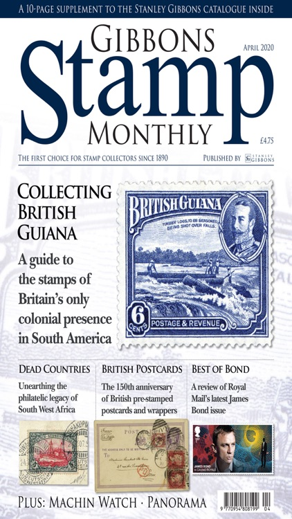 Gibbons Stamp Monthly Magazine screenshot-6