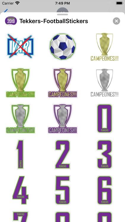 Soccer - Stickers screenshot-8