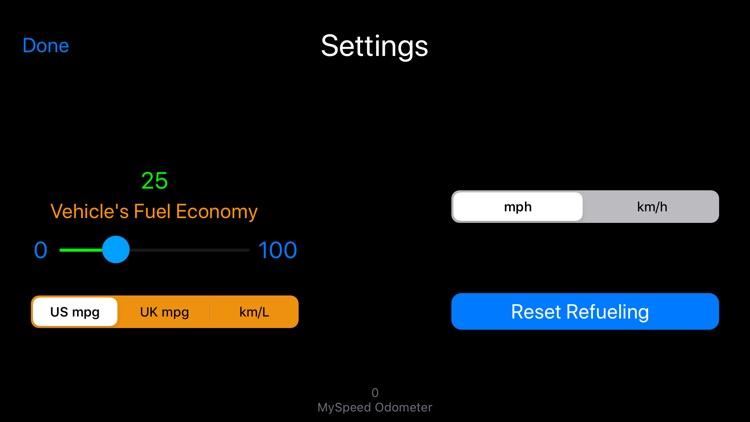 MySpeed - Speedometer & Fuel screenshot-8
