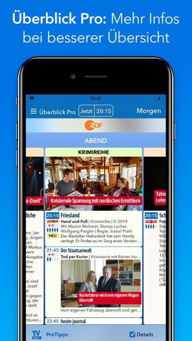 Screenshot #1 pour TV Programm TV Pro