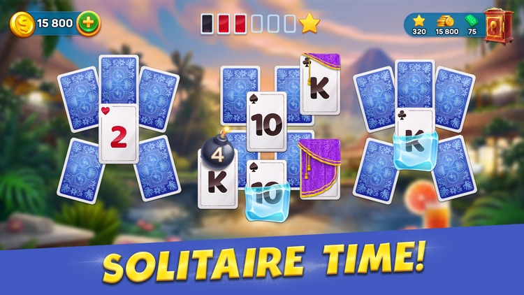 Solitaire Cruise Tripeaks Card