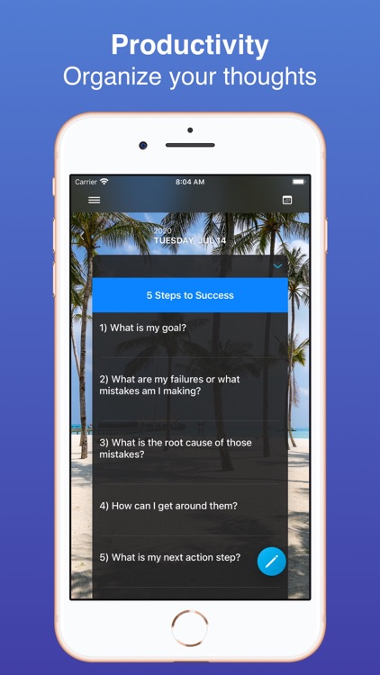 Custom Journal: Question Diary screenshot-4