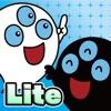 白黒オバケのゲーム絵本「不思議なタネ」iPhone Lite
