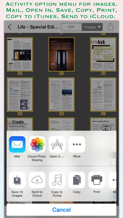PDF to JPG for iOS screenshot-3