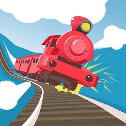 火车冲鸭!