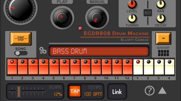 EGDR808 Drum Machine lite screenshot-3