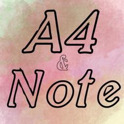 A4PrintingPaper_Notes